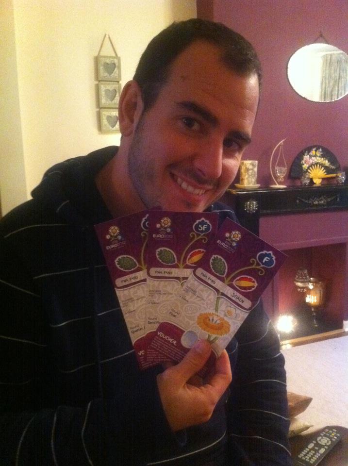 Consigo entradas para la Euro 2012